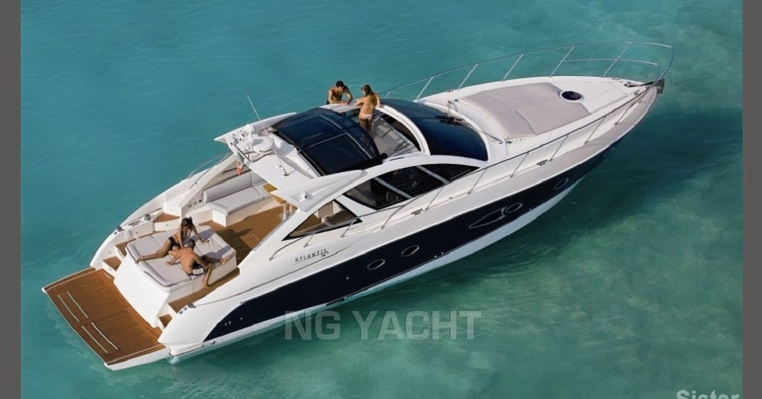 AZIMUT ATLANTIS 54 (2008) For Charter full